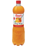 Flaschenabbildung: Rapp's Orange-Mango 1.0 Liter PET